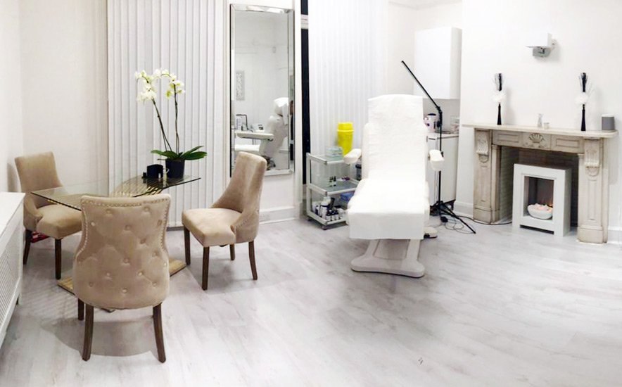 room in aesthetic clinic